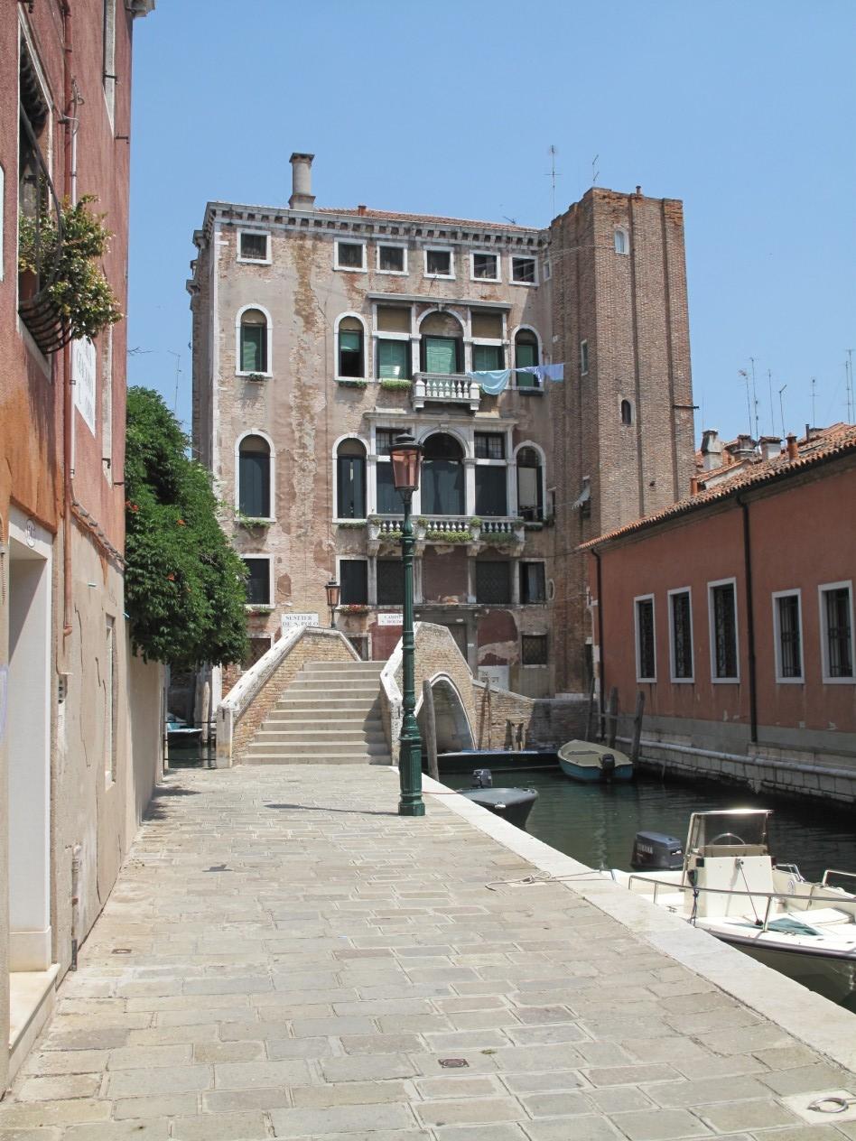 Venezia ti amo - Calle del Tentor - SANTA CROCE