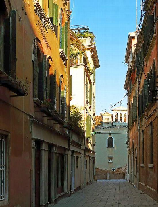 Venezia ti amo itinerario 1 for Ponte intorno alla casa