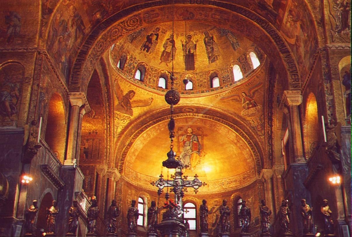 Venezia Ti Amo Interno Basilica